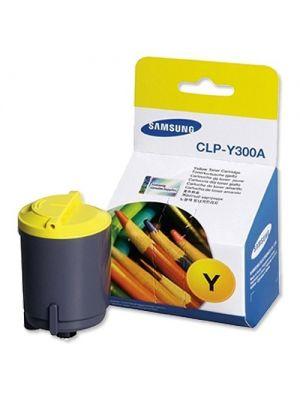 Toner amarillo original Samsung CLP-Y300A Caja dañada