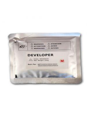 Revelador RICOH MPC6003 compatible Amarillo