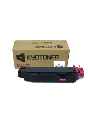 Tóner compatible TK-5270C color cian para KYOCERA