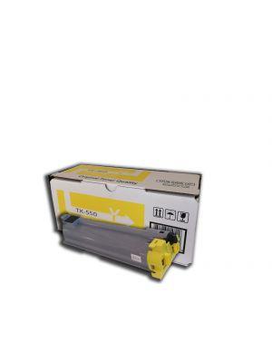 Tóner TK-550Y Amarillo compatible con Kyocera FS-5200DN