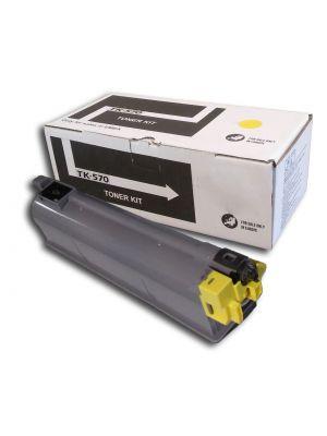 Tóner TK-570Y Amarillo compatible con Kyocera P-7035