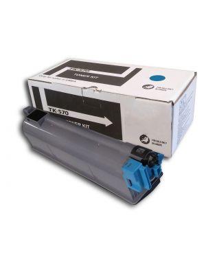 Tóner TK-570C Cian compatible con Kyocera P-7035