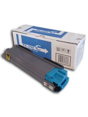 Tóner TK-590C Cian compatible con Kyocera FS-C5250DN