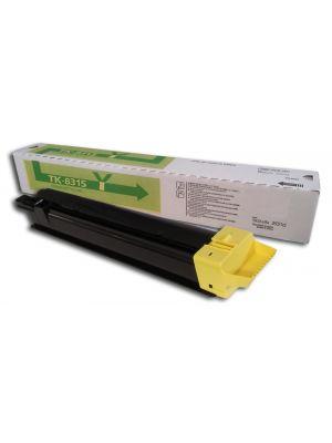 Tóner TK-8315Y Amarillo compatible con Kyocera TASKalfa 2550ci