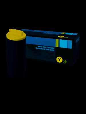 Toner amarillo original Samsung CLP-Y350A Caja dañada