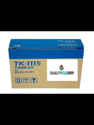 Tóner TK-1115 Negro compatible con Kyocera FS-1041