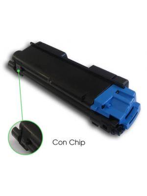 Tóner TK-580C Cian compatible con Kyocera FS-5150DN