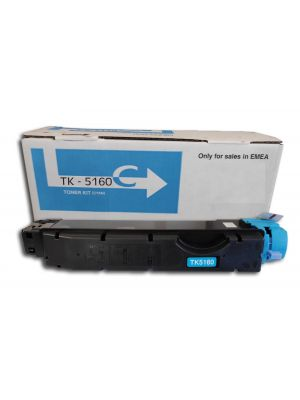 Compatible KYOCERA TK-5160 cyan toner