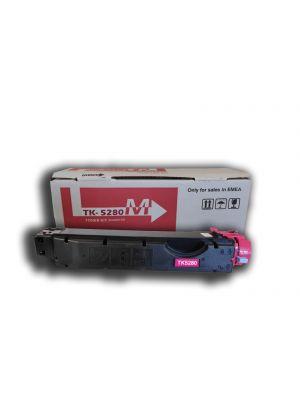 Cartucho de tóner cian compatible para KYOCERA TK-5280C
