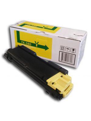 Tóner TK-580Y Amarillo compatible con Kyocera FS-5150DN