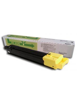 Tóner TK-8325Y Amarillo compatible con Kyocera TASKalfa 2551ci