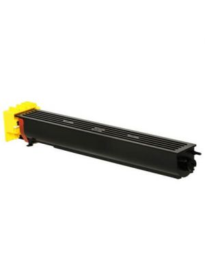 Compatible MINOLTA TN711Y yellow toner